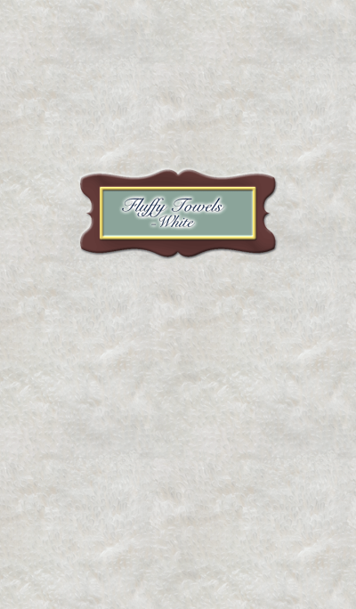 Fluffy Towels -White