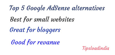 Google AdSense alternatives for small websites, great Google AdSense alternative