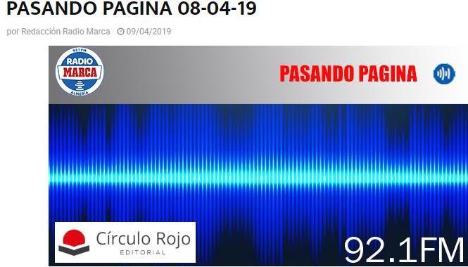 Entrevista CEGADOS Radio Marca