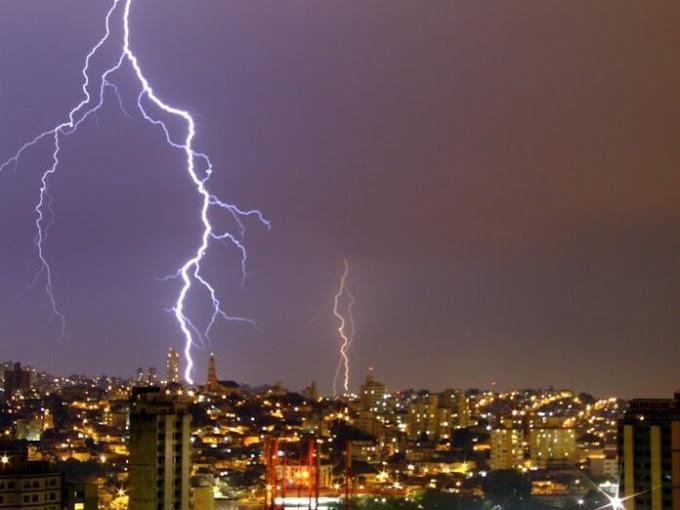 TEMPESTADE: PB está sob alerta de chuva intensa, tempestade de raios e vendaval. Região do Vale do Paraíba entra na lista.