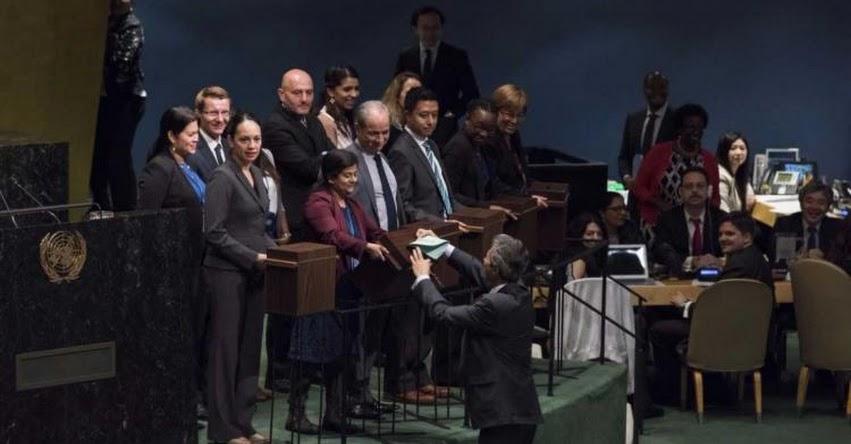 Perú es elegido miembro del Consejo de Derechos Humanos de la ONU con 180 votos a favor