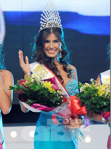 The Final Results of Miss Paraguay 2011