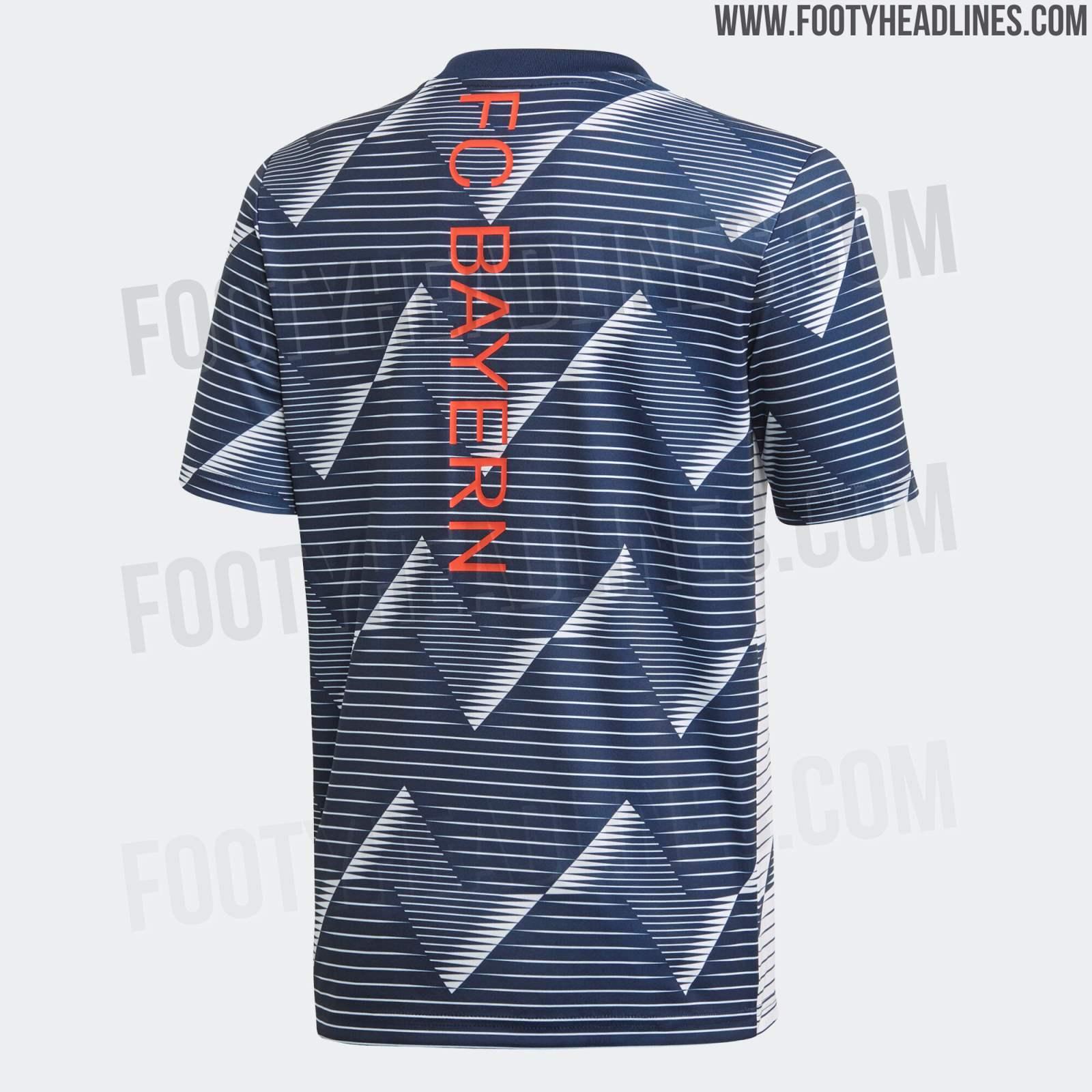 pretty nice 93d91 2144b Outstanding Bayern Munich 2020 Pre-Match Jersey Leaked ...