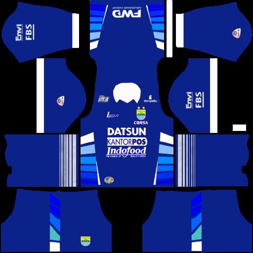 Kit Dream League Soccer Batik 2017