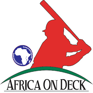 Logo for Africa On Deck, a non-profit organization to help youth baseball in Alexandra, South Africa