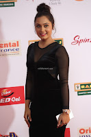 Vennela in Transparent Black Skin Tight Backless Stunning Dress at Mirchi Music Awards South 2017 ~  Exclusive Celebrities Galleries 057.JPG