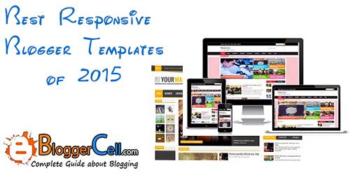 Responsive Blogger Templates 2015