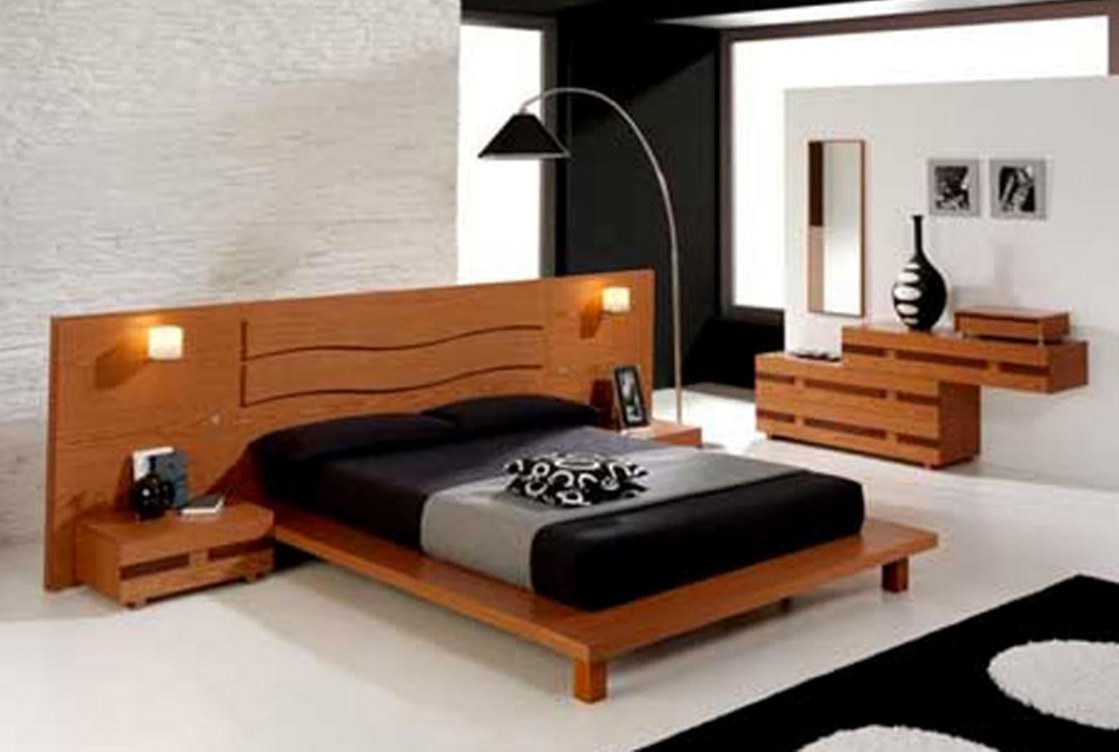 desain tempat tidur minimalis dari kayu | gambar desain rumah minimalis