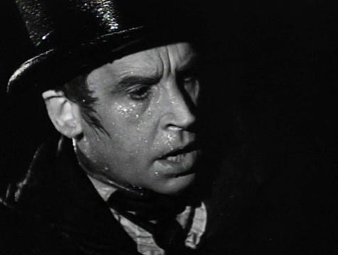 Wolfe MacFarlane (Henry Daniell) en El ladrón de cadáveres. The Body Snatcher - Cine de Escritor