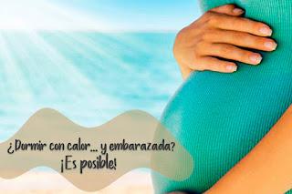 cojín nido consejos para dormir embarazada en verano y con calor blog mimuselina