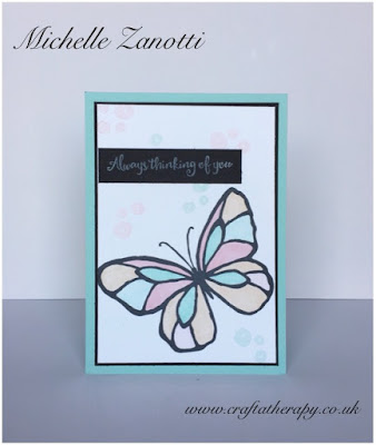 stampin' Up! UK Day flower happy birthday spring/summer catalogue Stampin' Blends thinking of you