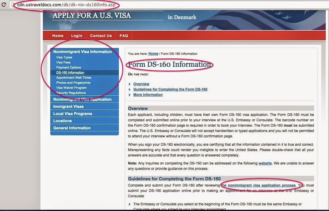 Philippine passport applying for a US tourist visa (DS-160