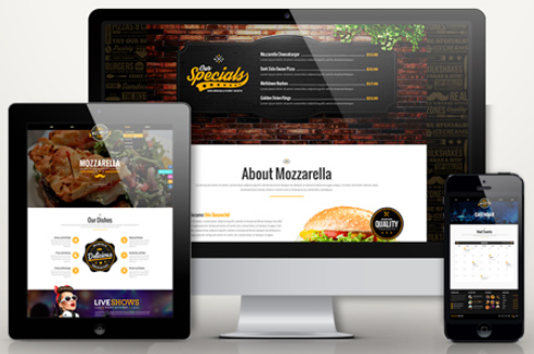 HTML Cafe Bar Template