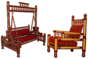 The Cultural Heritage Of India Ethnic Sankheda Furniture Of