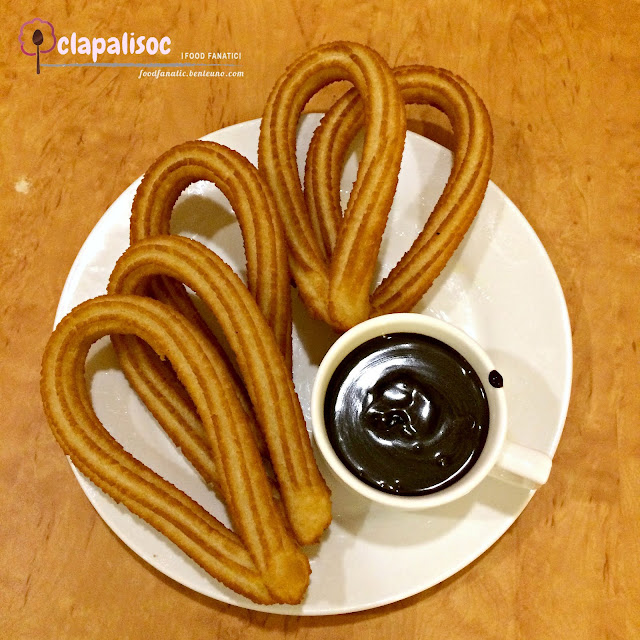 Churros con Chocolate from Sancho Churreria Manila