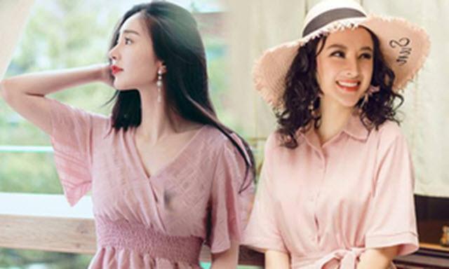 Sắc hồng được tín đồ thời trang ưa chuộng trong mùa hè