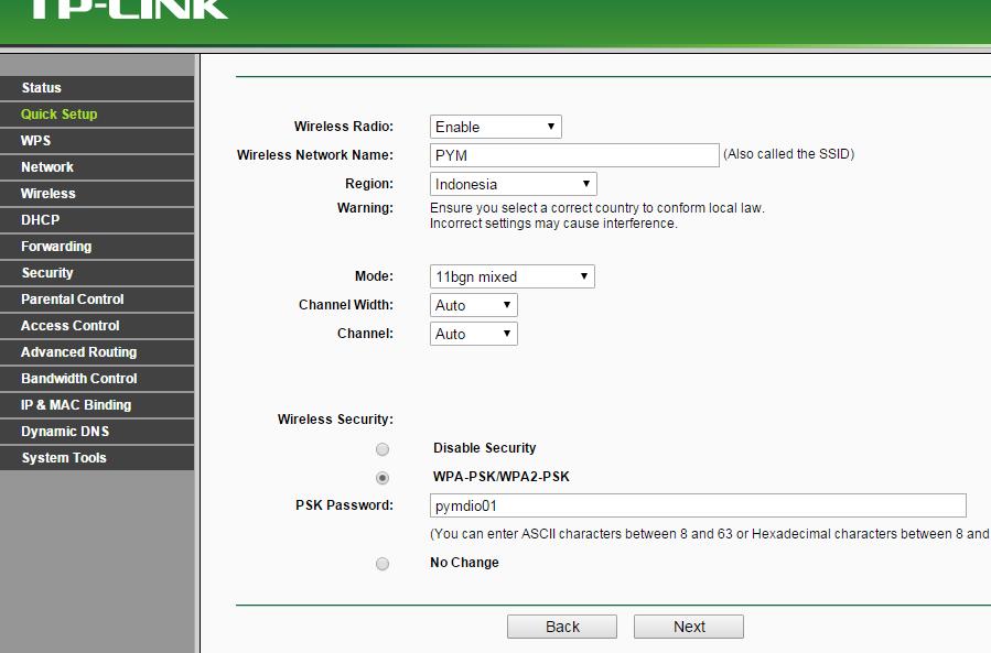 Cara Setting Router TP Link Untuk Biznet