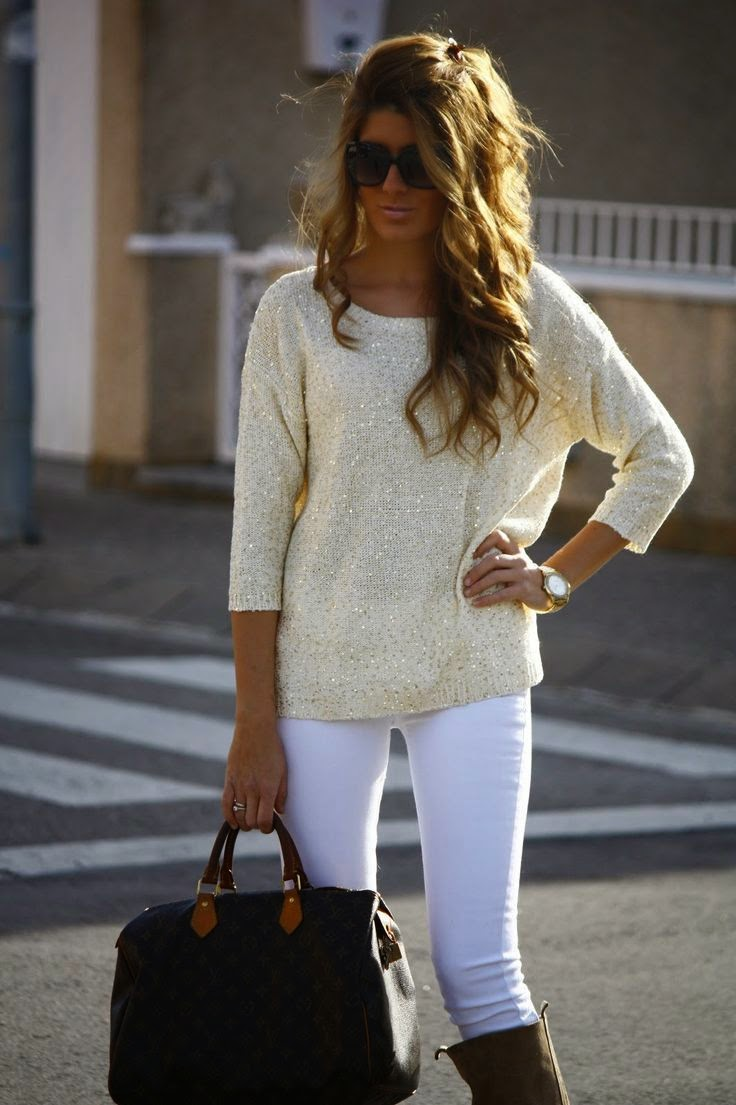 Sparkly sweater,