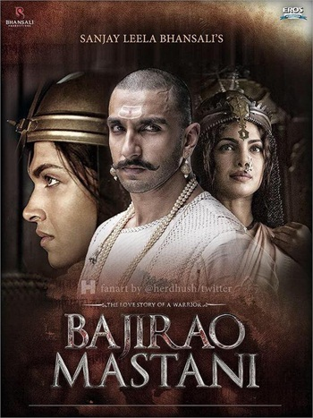 Bajirao Mastani 2015 Hindi 480P BrRip 400MB, Bollywood hindi movie bajirao mastani 2015 brrip bluray 480p free download 300mb hd or watch online single link at https://world4ufree.ws
