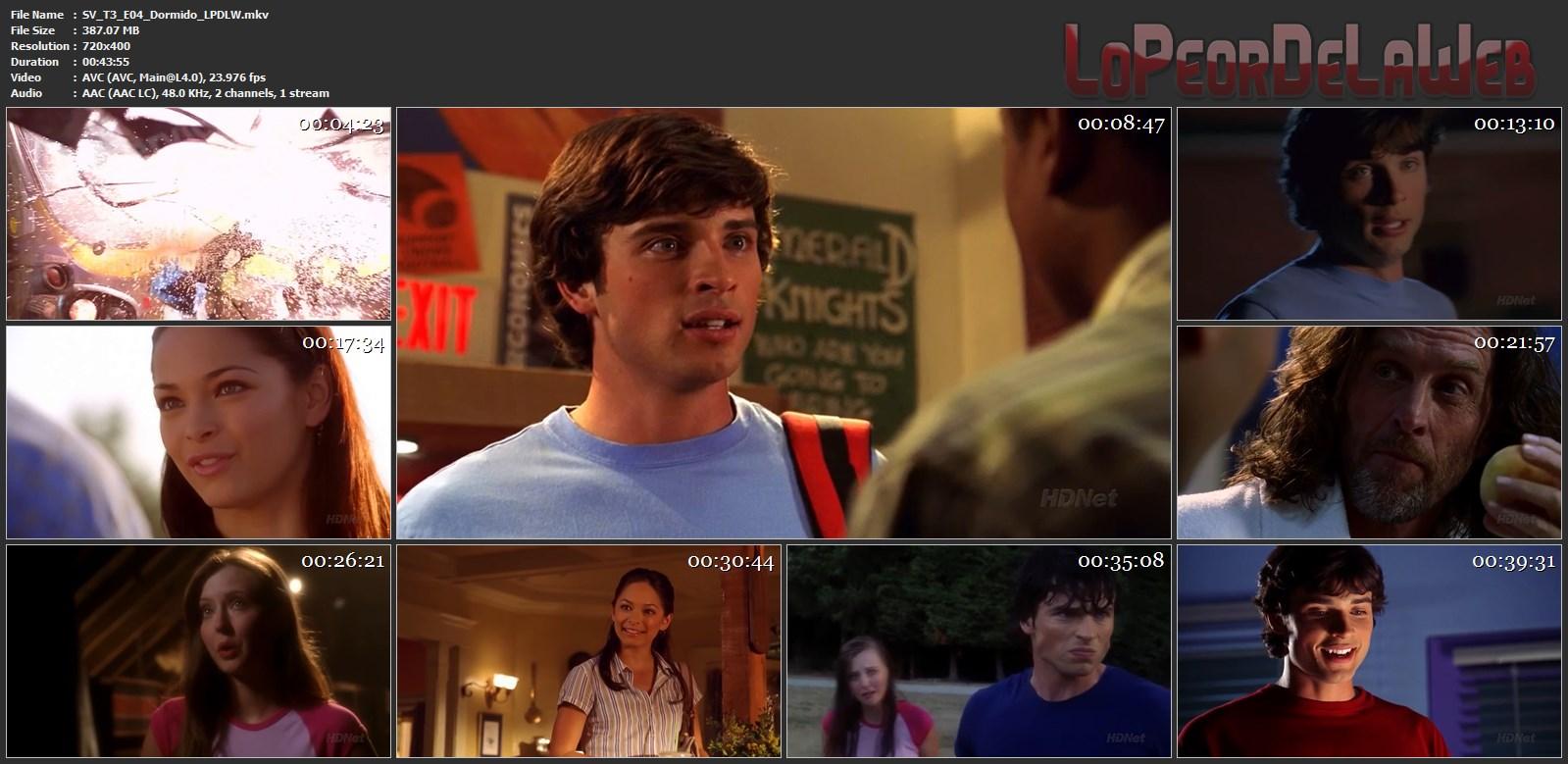 Smallville - Temporada 3 - HdTv - Latino - Mega
