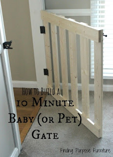 DIY Baby Or Pet Gate