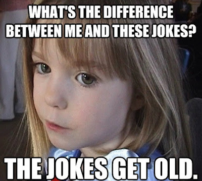 Madeleine McCann Jokes