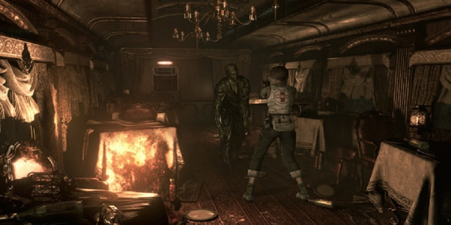 Resident Evil 0 HD Remaster Torrent Imagem