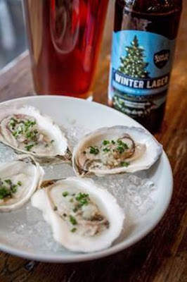 Oyster Escabeche with Winter Lager Recipe