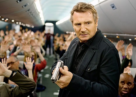 Liam Neeson Non-Stop action movie