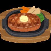 ビーフステーキのイラスト