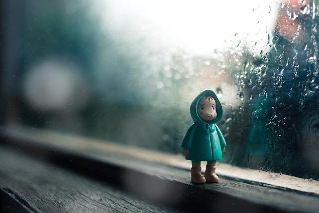 Gdy pogoda psuje się ...