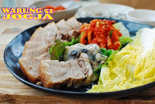 kimchi, bossam, korean food, sawi putih,