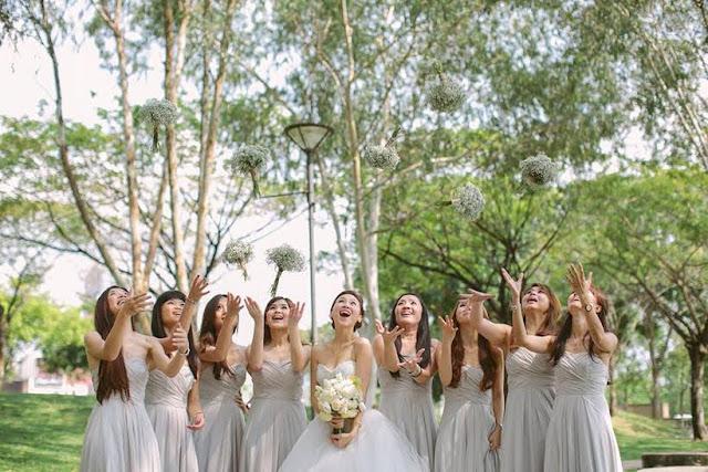 outdoor wedding makeup