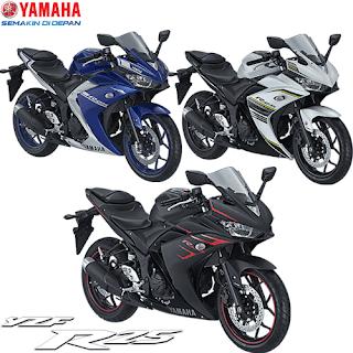 Katalog Pilihan Warna Yamaha R25, Harga Promo Yamaha R25 Terbaru
