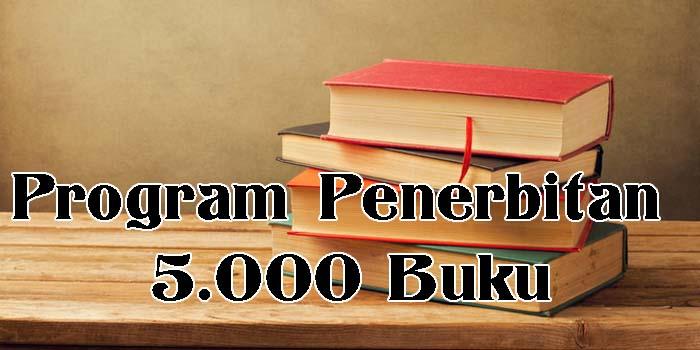 Program Penerbitan 5000 Buku