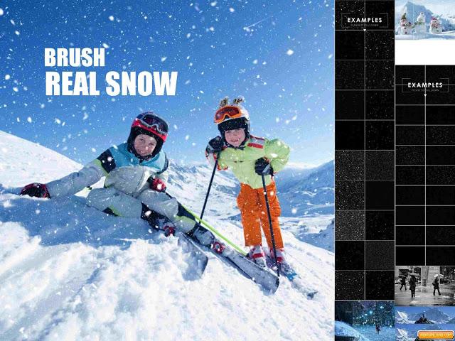 تحميل مجموعة الـ Brush الرائعه للفوتوشوب الخاصه بالثلج-بلال ارت