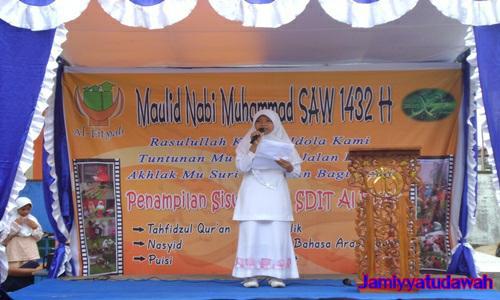 Contoh Teks Pidato Singkat Bahasa Sunda Untuk Anak SD Menyambut Maulid Nabi Lucu