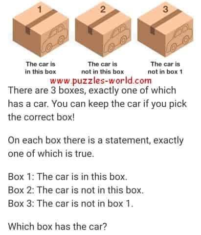 3 Box Puzzle