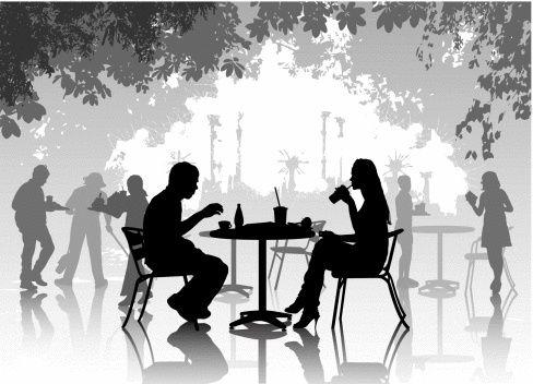 Você entra no restaurante vazio ou no movimentado?