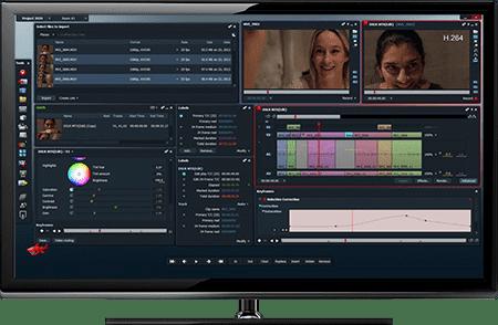 برنامج تحرير وإنشاء الفيديو والأفلام الإحترافي Lightworks