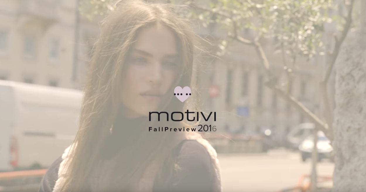 Canzone Motivi preview collezione 2016 autunno Pubblicità