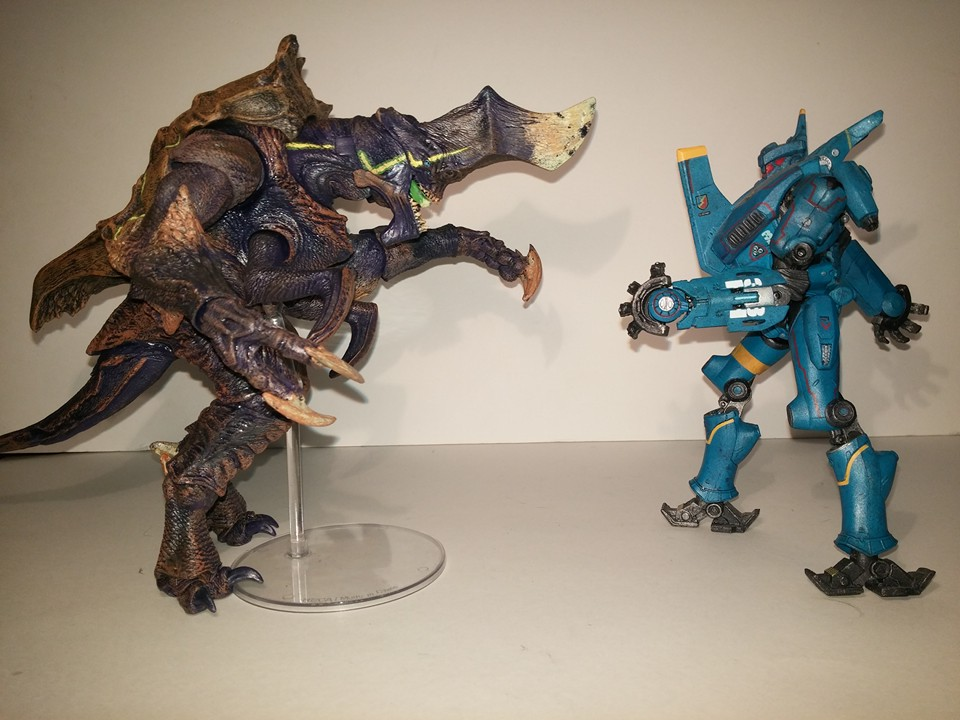 The Gryphon's Lair : NECA HARDSHIP - Figure Review Pacific Rim Hardship