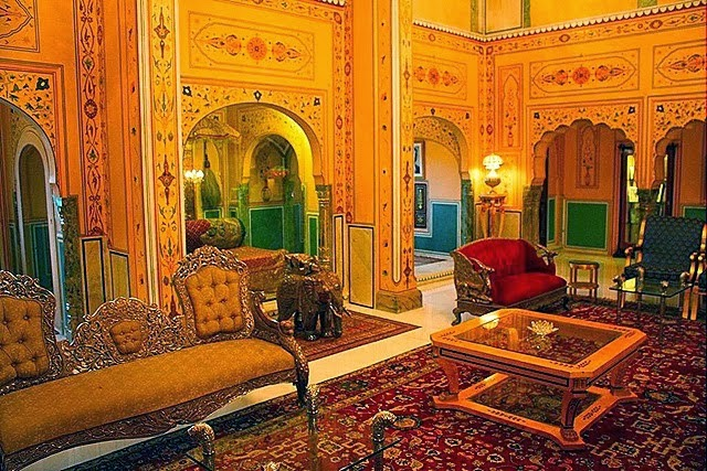 Royal Suite, Raj Palace, Jaipur, Rajasthan