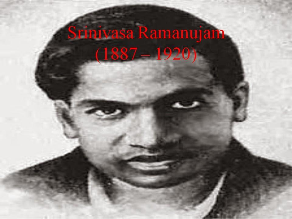 mathematicians contributions module srinivasa ramanujan  srinivasa ramanujan 1887 ad 1920 ad