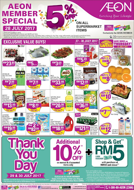 AEON Supermarket Exclusive Value Buys