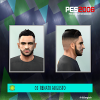PES 6 Faces Renato Augusto by El SergioJr