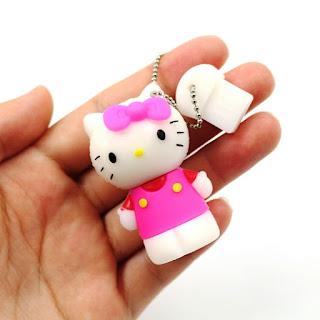 Gambar Flashdisk Hello Kitty Pink Cantik Dan Lucu