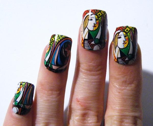 Nail Art History Fine Art And You Painting Digital Art