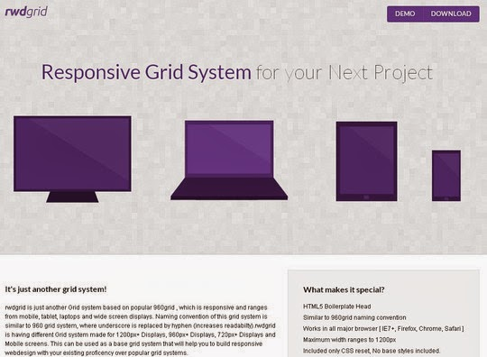 44 Flexible Grid Tools For Responsive Websites