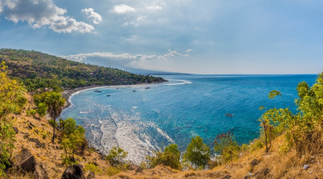 Beach of Amed